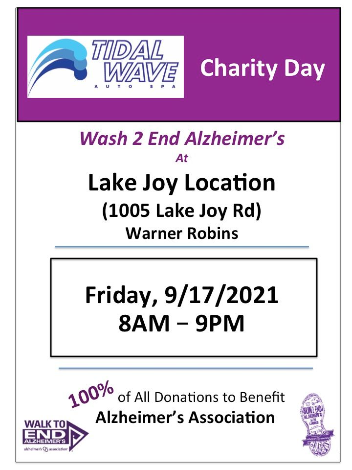 Tidal Wave's Charity Day